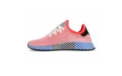 Женские кроссовки Adidas Deerupt Runner Red/Blue CQ2624