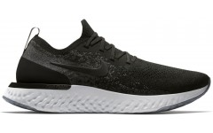 Кроссовки Nike Epic React Flyknit Black White AQ0067-001