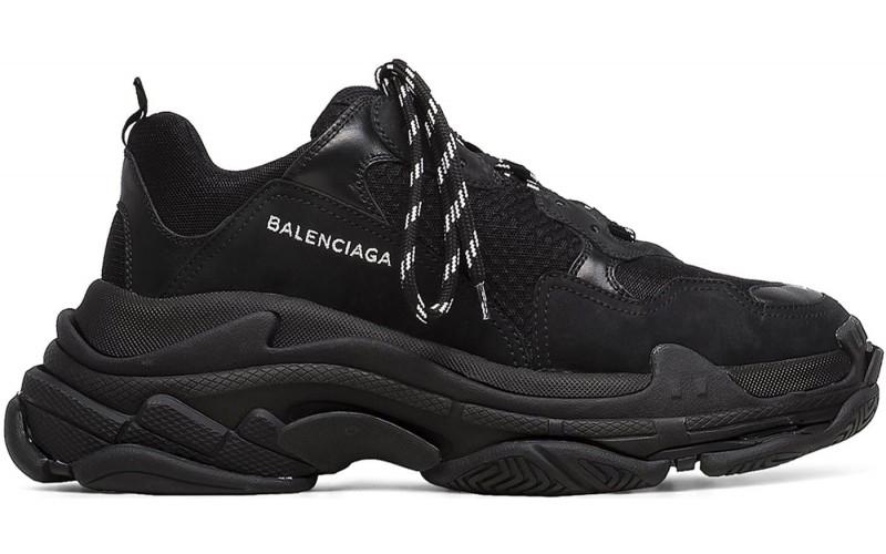 Кроссовки Balenciaga Triple S Triple Black 51278-W0901-1000