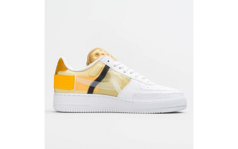 Nike Air Force 1 Type White Gold AT7859-100
