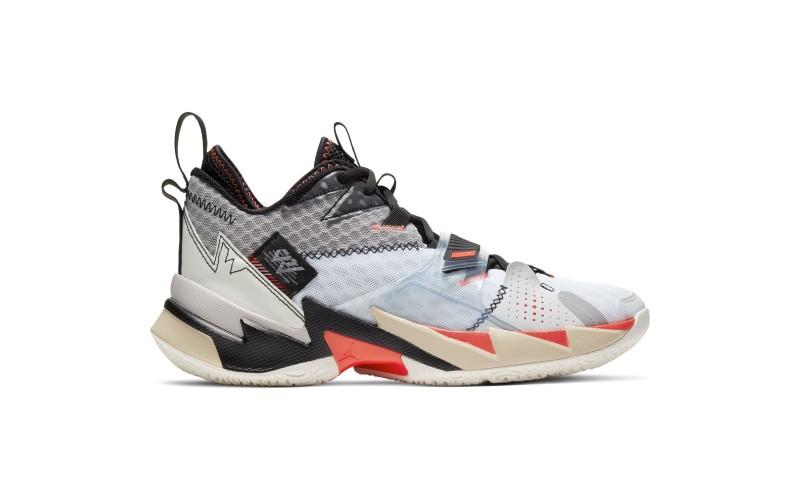 Air Jordan Why Not Zer0.3 Unite White Gray Black