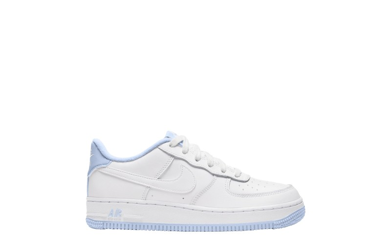 Nike Air Force 1 Low White Hydrogen Blue (GS) - CD6915-103