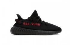 Мужские кроссовки Adidas Yeezy Boost 350 v2 Black Red CP9652