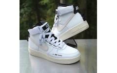 Мужские кроссовки Nike Air Force 1 High Utility White Light Cream AJ7311-100