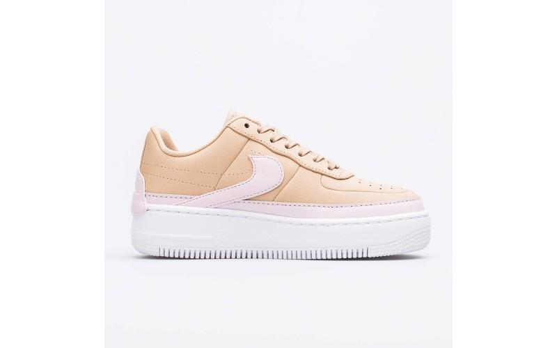 Женские кроссовки Nike Air Force 1 Jester XX Beige/Pink AO1220-202