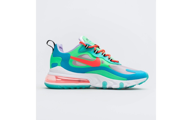 Женские кроссовки Nike Air Max 270 React Psychedelic Movement Green/Blue/Red AT6174-300