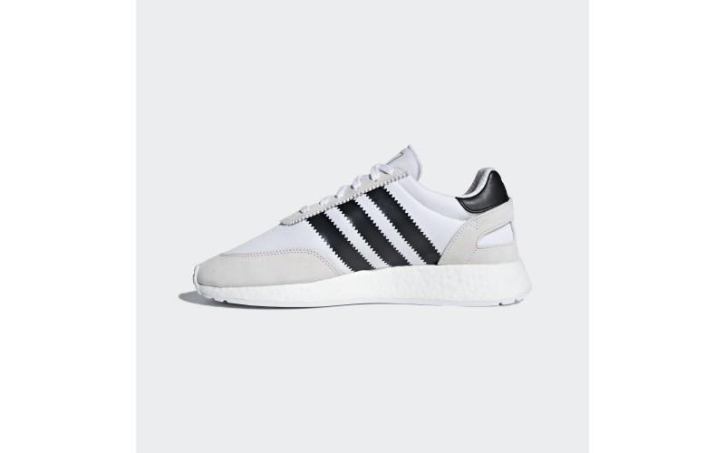 Мужские кроссовки Adidas Iniki Runner White Black CQ2489