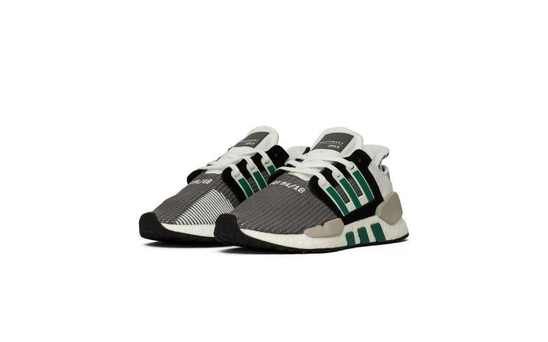 Мужские кроссовки Adidas EQT Support 91/18 Core Black Sub Green AQ1037