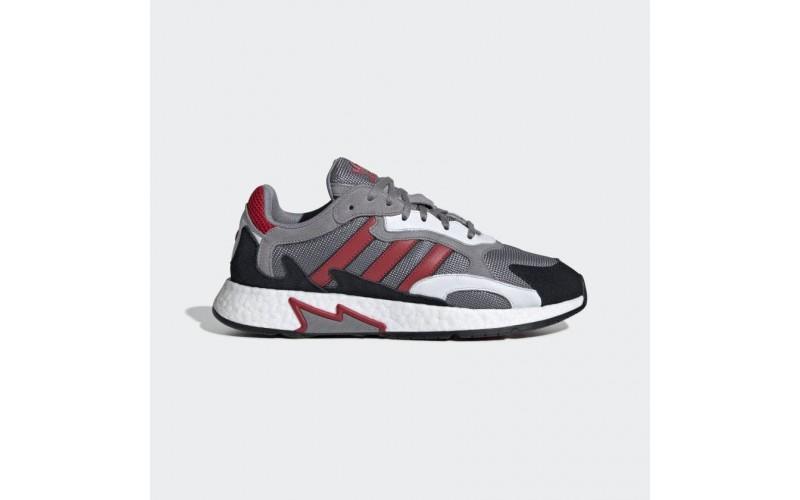 Мужские кроссовки Adidas Tresc Run Grey Scarlet Core Black EF0765