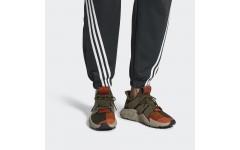 Мужские кроссовки Adidas Prophere Olive Green Solar Red Orange CQ2127
