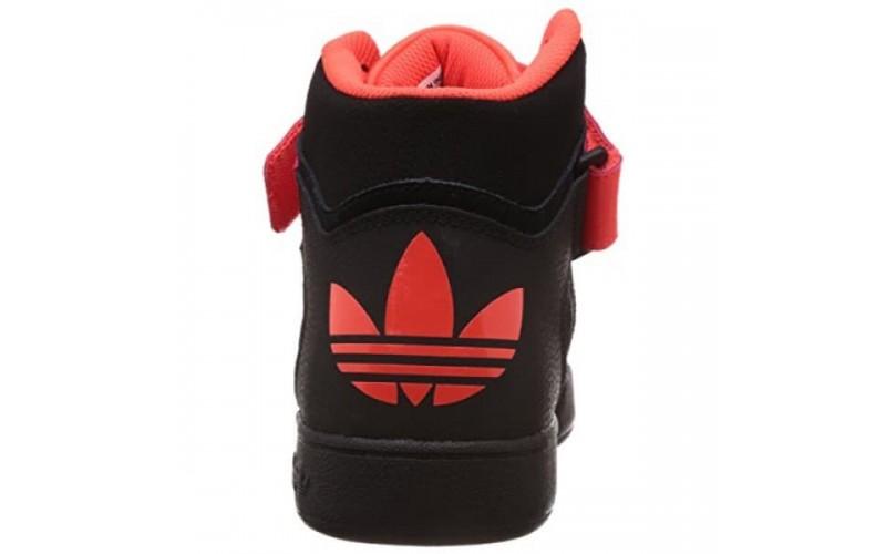 Мужские кроссовки Adidas Varial Mid Black/Red D68666