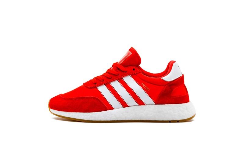 Мужские кроссовки Adidas Iniki Runner Red White BB2091