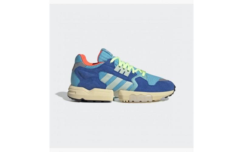 Мужские кроссовки Adidas ZX Torsion Bright Cyan Green Blue EE4787