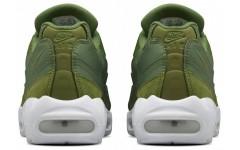Мужские кроссовки Stussy x Air Max 95 Olive 834668 337