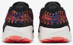 Мужские кроссовки Air Footscape Woven NM Black Total Crimson 874892 003