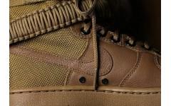 Мужские кроссовки Wmns SF Air Force 1 High Golden Beige 857872 200