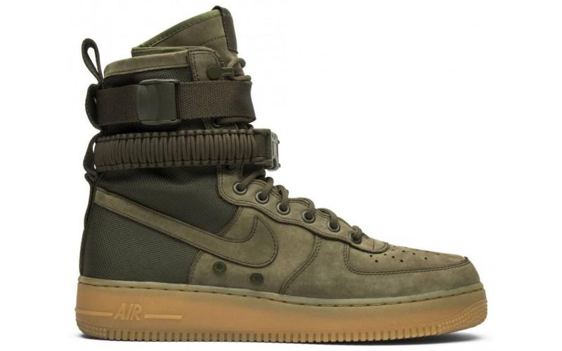 Мужские кроссовки SF Air Force 1 Faded Olive 859202 339