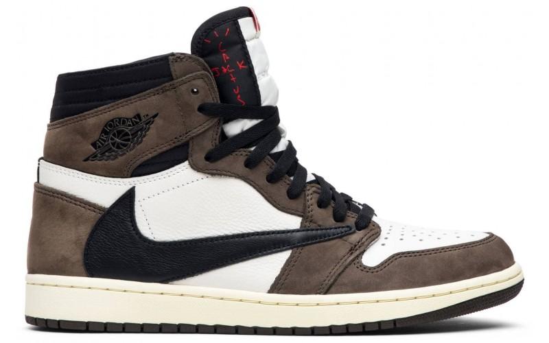 Мужские кроссовки Air Jordan 1 Retro High Travis Scott CD4487-100