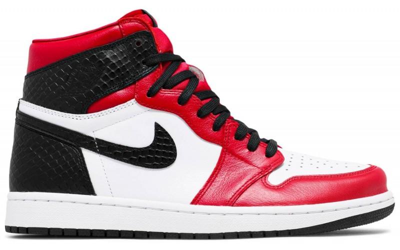 Кроссовки Wmns Air Jordan 1 Retro High OG Satin Red CD0461 601