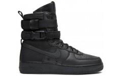 Мужские ботинки SF Air Force 1 Triple Black 864024 003