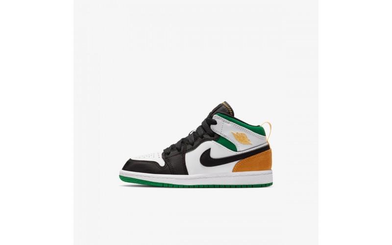 Чоловічі кросівки Air Jordan 1 Mid SE 'Oakland' - Air Jordan - 852542-101