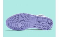 Женские кроссовки Air Jordan 1 Mid Purple Aqua - 554724-500
