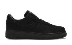 Женские кроссовки Nike Air Force 1 Low Stussy Black - CZ9084-001