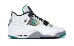 Мужские кроссовки Jordan 4 Retro Lucid Green Rasta AQ9129-100