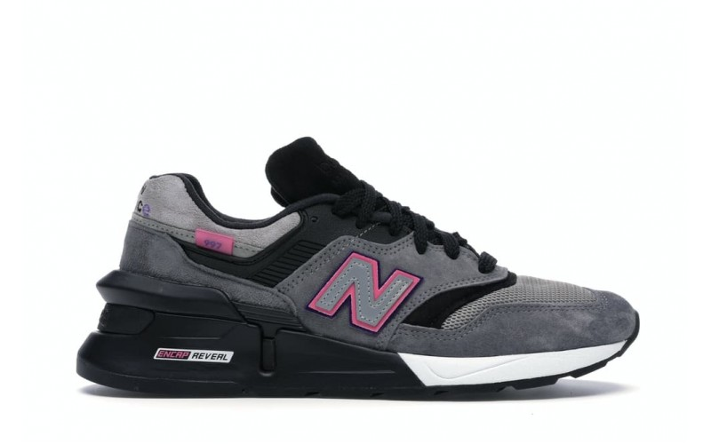 Мужские кроссовки New Balance 997S Fusion Kith x United Arrows and Sons Grey Pink M997SKH