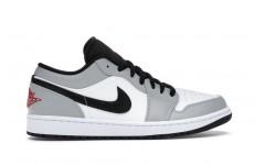 Кроссовки Jordan 1 Low Light Smoke Grey - 553558-030