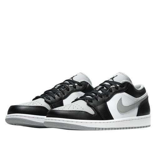 Мужские кроссовки Air Jordan 1 Low Shadow Black Grey 553558-039