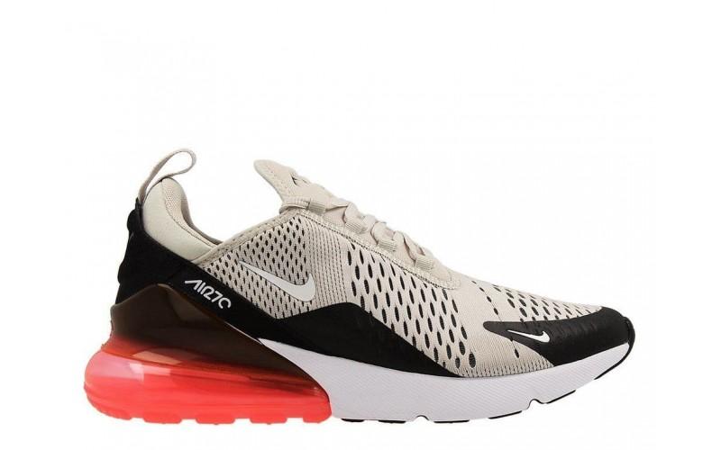 Мужские кроссовки Nike Air Max 270 Hot Punch Beige Black (AH8050-003)