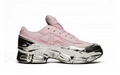Женские кроссовки Adidas Raf Simons Ozweego Pink/Silver Metallic EE7947