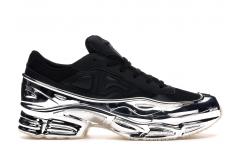 Женские кроссовки Adidas Raf Simons Ozweego Black/Silver Metallic EE7944