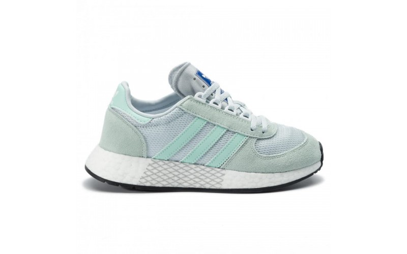 Женские кроссовки Adidas Marathon Tech W (Ice Mint / Clear Mint / Blue Tint)
