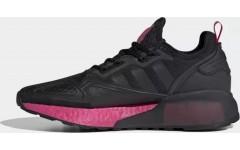 Женские кроссовки Adidas Zx 2k boost Core Black Shock Pink FV8986