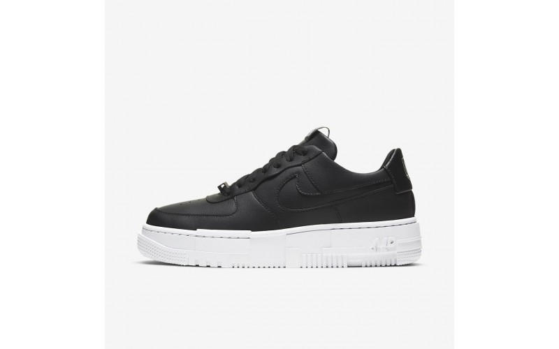 Женские кроссовки Nike Air Force 1 Pixel Black White CK6649-001