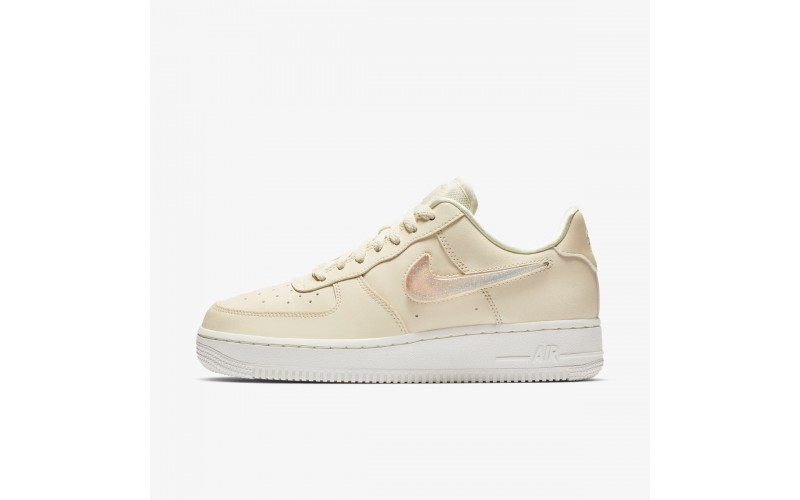 Женские кроссовки Nike Air Force 1 Low Jelly Puff Pale Ivory AH6827-100