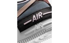 Женские кроссовки Nike Air Force 1 Shadow Black Metallic Red Bronze CU5315-001