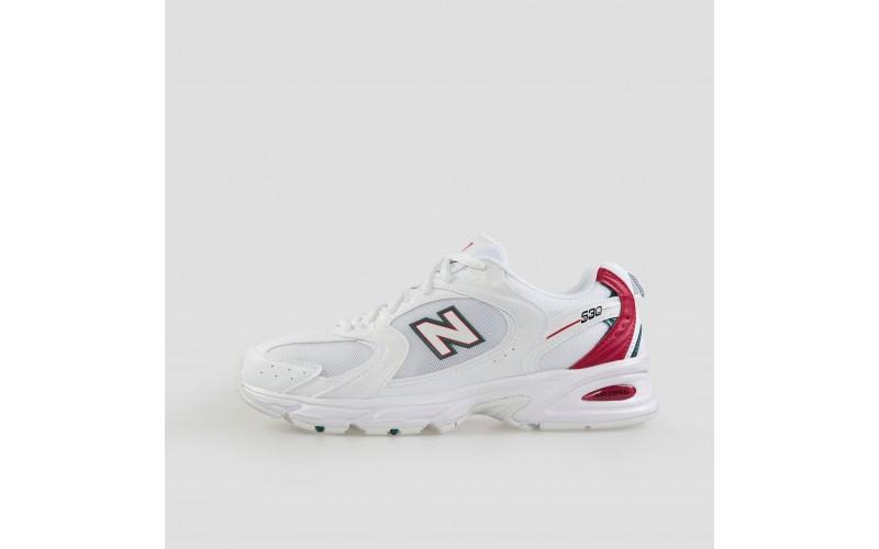 Женские кроссовки New Balance 530 White Red MR530SK