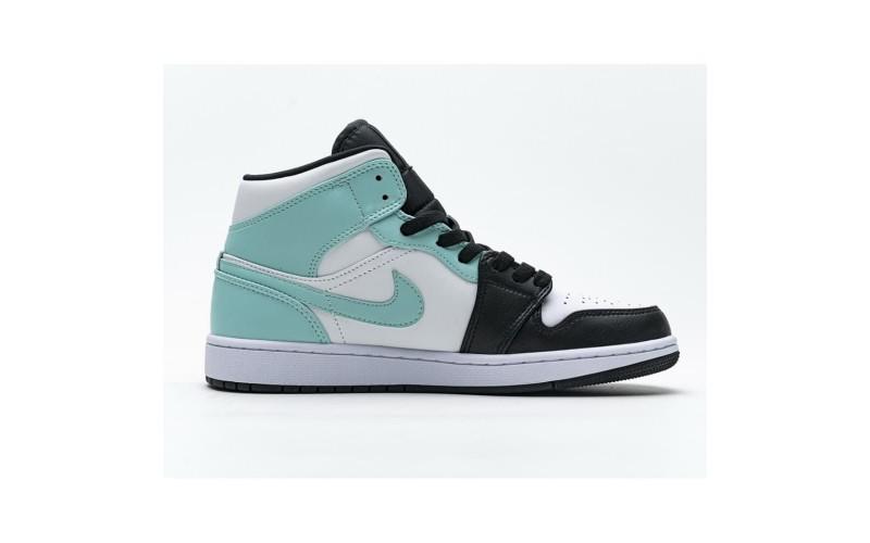 Женские кроссовки Jordan 1 Mid Igloo 554724-132