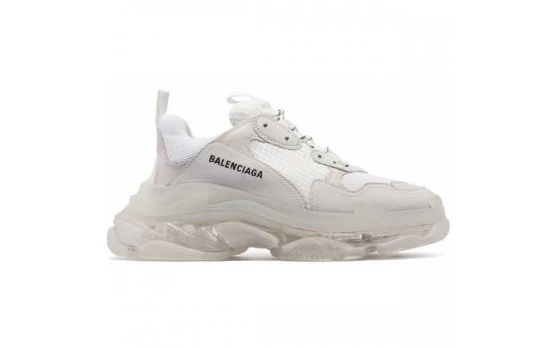 Женские кроссовки Balenciaga Triple S White Clear Sole 541624W09E19000