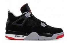 Мужские кроссовки Air Jordan 4 Retro Bred 308497-060