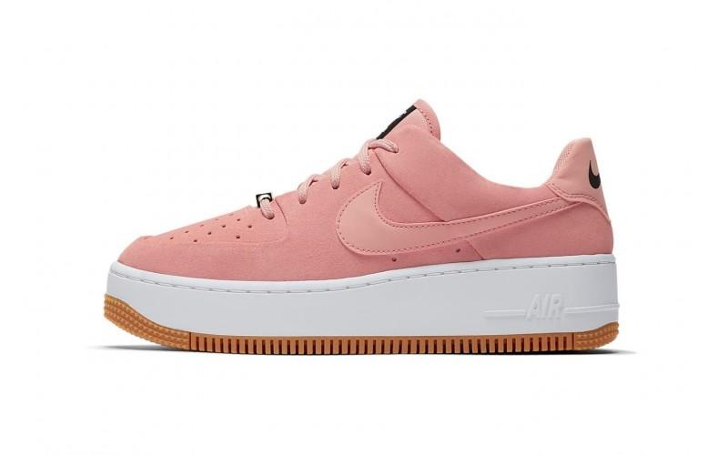 Женские кроссовки Nike Air Force 1 Sage Low Coral Stardust - AR5339-603
