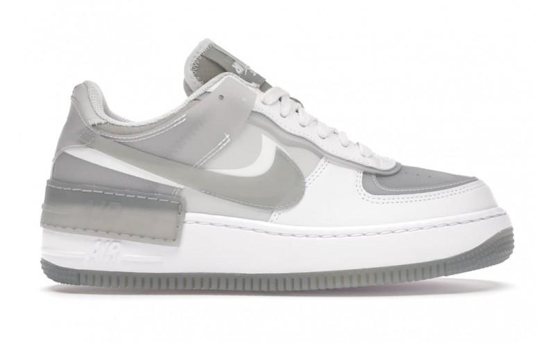Женские кроссовки Nike Air Force 1 Shadow White Grey CK6561-100