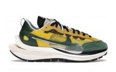 Мужские кроссовки Nike Vaporwaffle sacai Tour Yellow Stadium Green CV1363-700