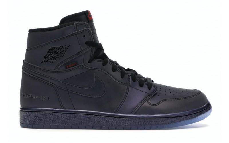 Мужские кроссовки Jordan 1 Retro High Zoom Fearless MULTI-COLOR/BLACK-LUCKY GREEN BV0006-900