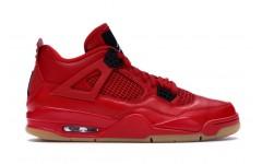 Мужские кроссовки Jordan 4 Retro Fire Red Singles Day AV3914-600