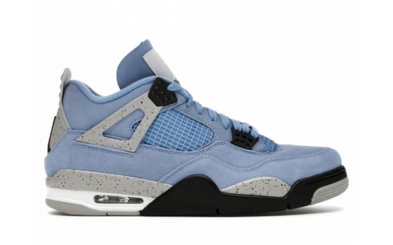 Мужские кроссовки Jordan 4 Retro University Blue CT8527-400