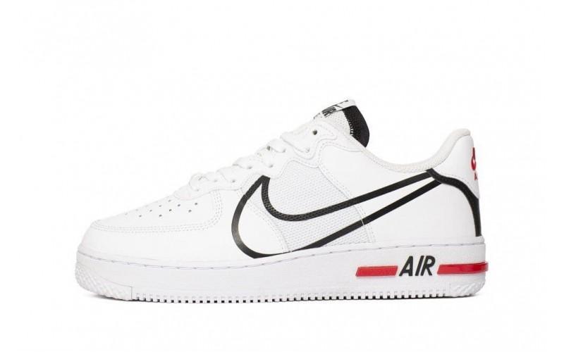 Кроссовки Nike Air Force 1 React White (CD4366-100)